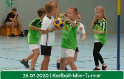 Korfball mini Turnier f
