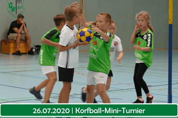 Korfball mini Turnier f
